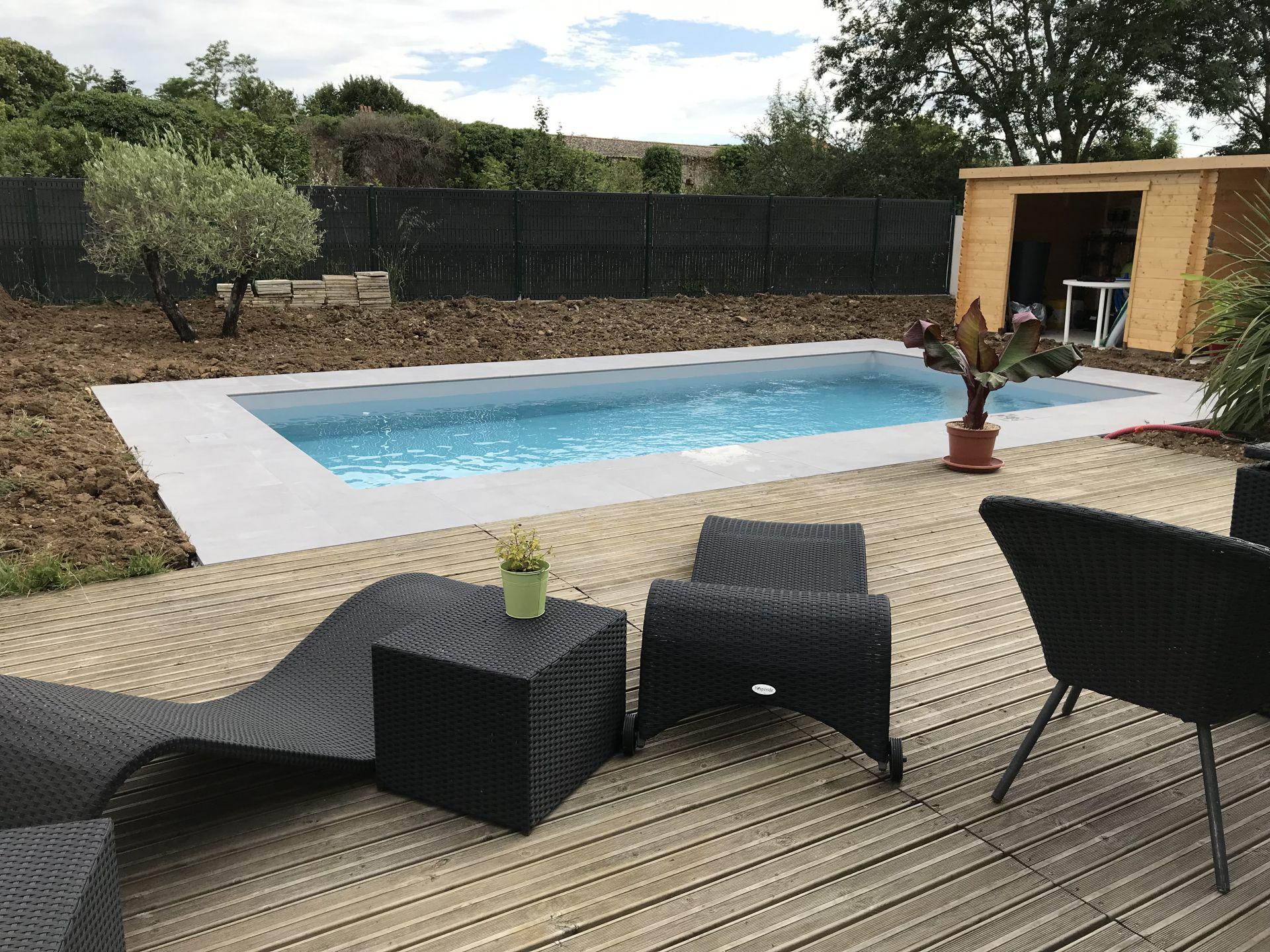 aménagement extérieur à Niort et La Rochelle