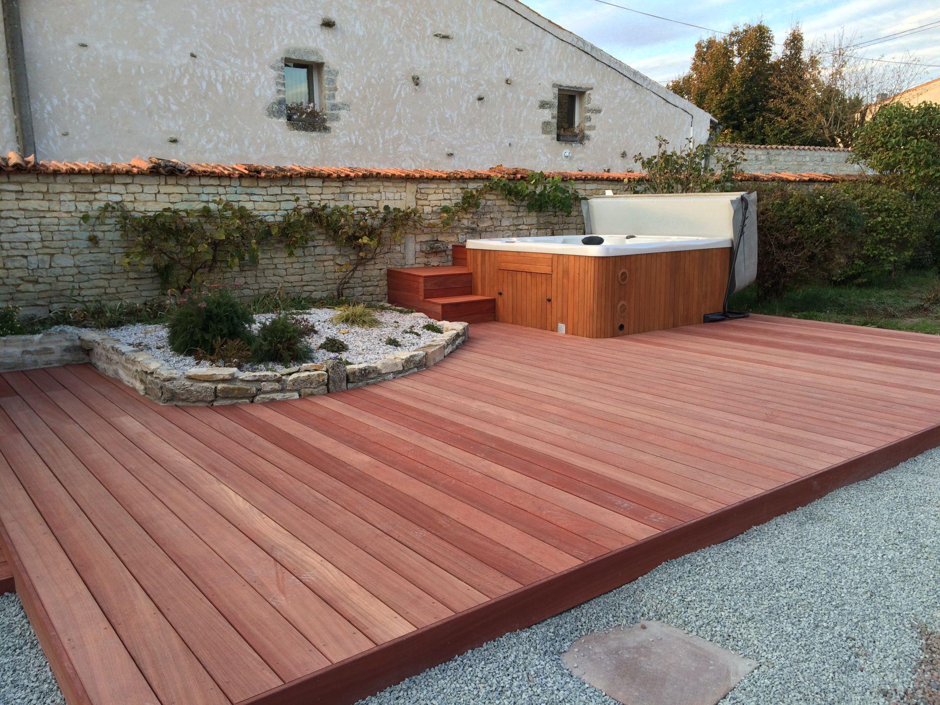 Entretien Terrasse en bois à Niort